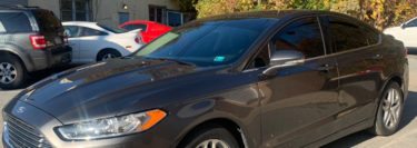 3M Ceramic IR Window Tint Protects 2016 Ford Fusion from the Sun