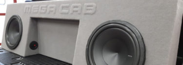Vehicle-Specific Subwoofer Enclosures Deliver Amazing Bass Performance