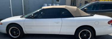 Classic 1996 Chrysler Sebring Convertible Gets 3M Window Tint Upgrade